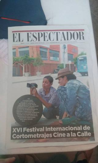 "Couverture du journal colombien ""El Espectador"""